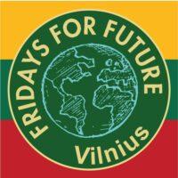 Fridays For Future Vilnius logo