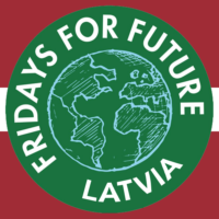 Fridays For Future Latvia logo