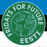 Fridays for Future Estonia logo