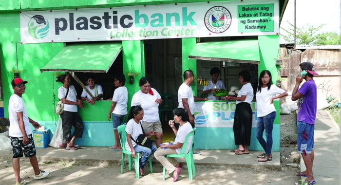Plastic Bank collection centre