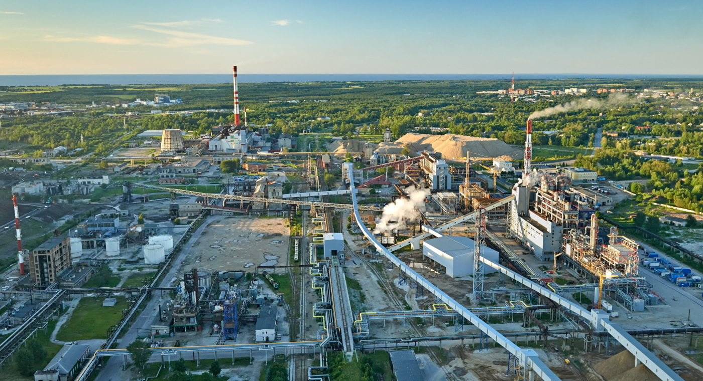 VKG Energia shale oil plant in Estonia