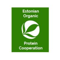 Estonian organic protein cooperation logo