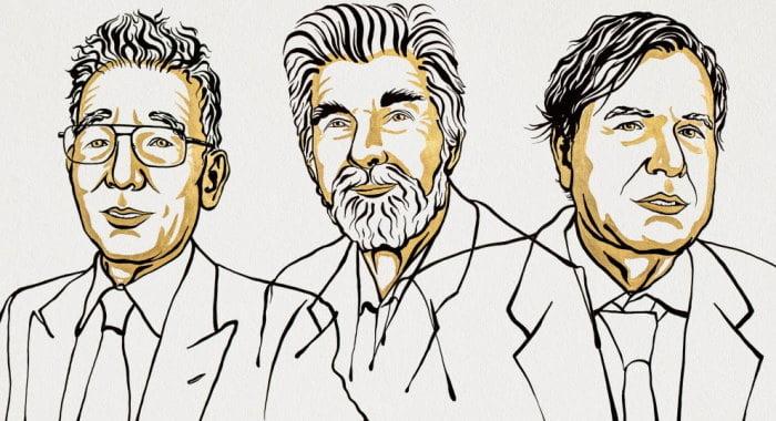 Sketch of Nobel physics prize winners