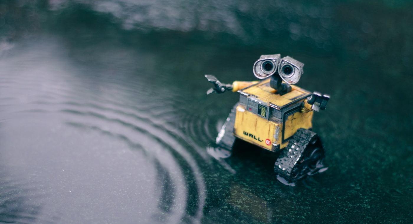 Wall-E toy